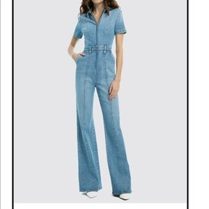 Alice and Olivia Gorgeous Wide Leg Jumpsuit BNWT